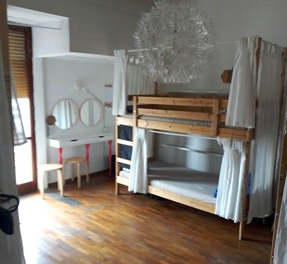 Posto letto (stanza da 6)